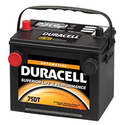 Duracell® Automotive Battery - Group Size 75/86