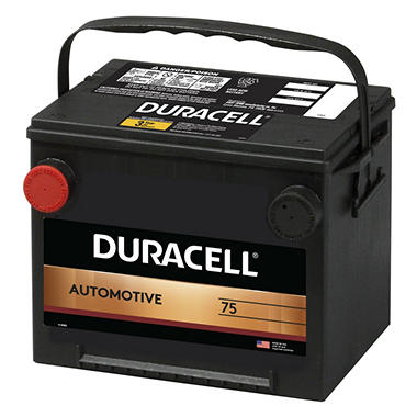Duracell® Automotive Battery - Group Size 75