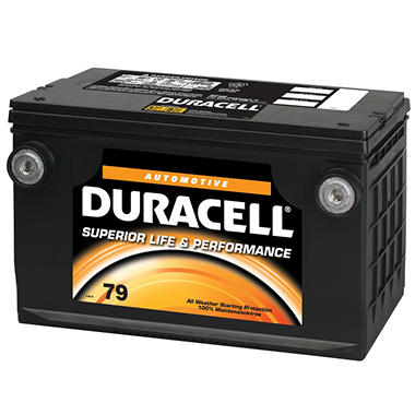 Duracell® Automotive Battery - Group Size 79