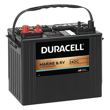 Duracell® Marine Battery - Group Size 24DC
