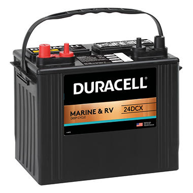 Duracell® Marine Battery - Group Size 24DCC