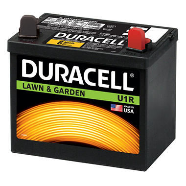 Duracell� Lawn & Garden Battery - Group Size U1R