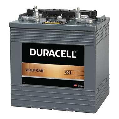 Duracell® Golf Car Battery - Group Size GC8