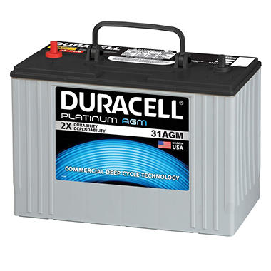 Duracell� Heavy Duty AGM Truck Battery - Group Size 31AGM