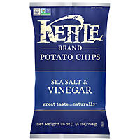 Kettle Sea Salt and Vinegar Kettle Chips (28 oz.)