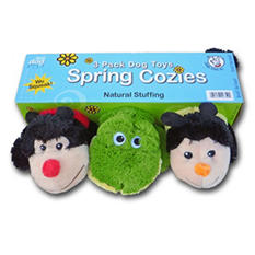 Garden Cozies Dog Toy - 3 pk.