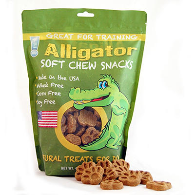 think!dog Alligator Jerky Dog Treats - 42 oz.