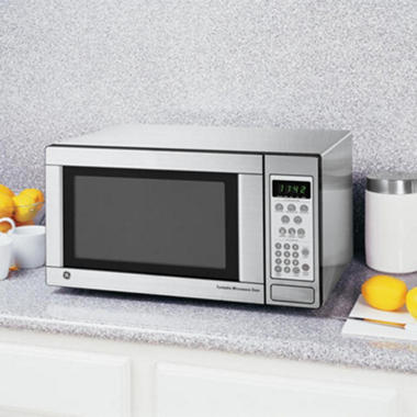 Countertop Microwave What To Look For : GE? 1.1 cu. ft. 1100 Watt Countertop Microwave - Stainless Steel ...
