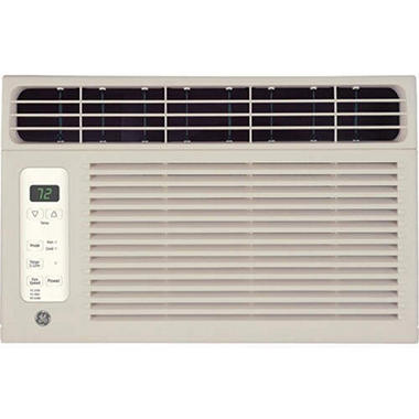 GE� Window Air Conditioner - 6,000 BTU