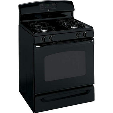 GE® Gas Range 4.8 cu. ft. - Black