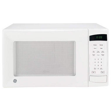 GE� 1.1 cu. ft. 1100 Watt Countertop Microwave - White or Black