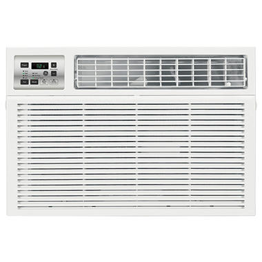 Ge 18 000 btu energy star window air conditioner with for 18 inch window air conditioner