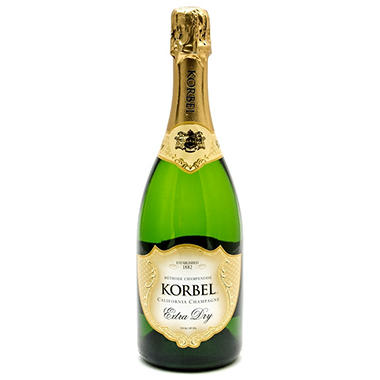 +KORBEL CHAMPAGNE EXTRA DRY 750ML