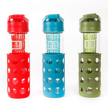 3 Hydration Water Bottles with Infuser
