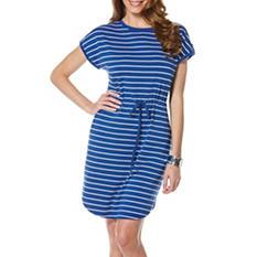 Rafaella Striped Dress (Assorted Colors)
