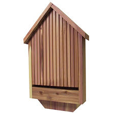 Deluxe Wood Bat House
