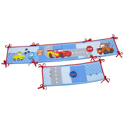 Crown Craft Crib Bumpers - Disney Cars