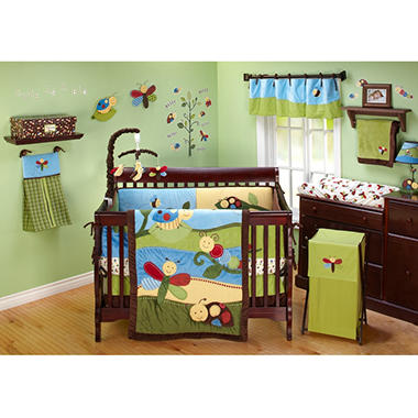 NoJo Critter Babies 11-piece Crib Bedding Set