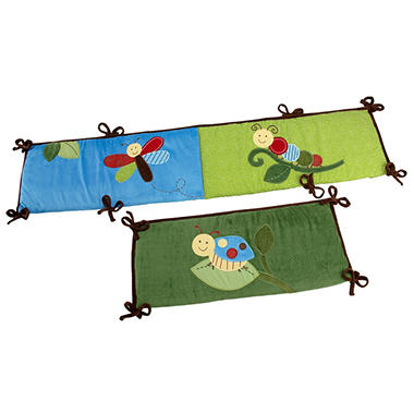 NoJo Crib Bumper Set, 4 pc. - Critter Babies