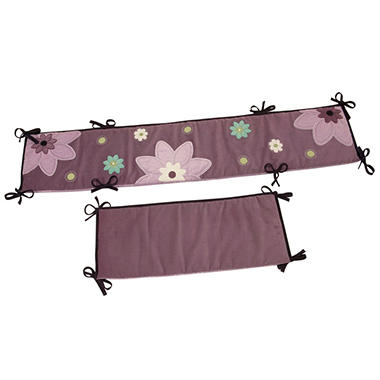 NoJo Plum Dandy Crib Bumper Set - 4 pc.