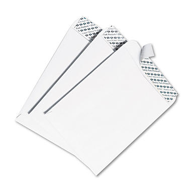 Quality Park - Redi Strip Catalog Envelope, 9 1/2 x 12 1/2, White -  100/Box
