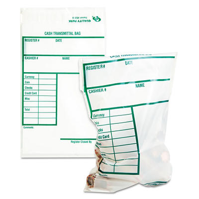 Quality Park Cash Transmittal Bags