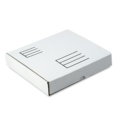 Quality Park - Die-Cut Fiberboard Ring Binder Mailer w/3 Binder Cap, 12 x 12-1/4 x 3-7/8, White