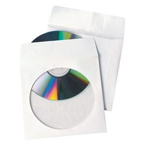Quality Park - Tech-No-Tear CD/DVD Sleeves -  100/Box