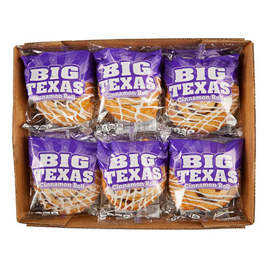 CloverhillBig Texas Cinnamon Roll (4 oz. roll, 12 ct.)