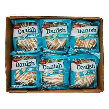 Cloverhill Cheese Danish (4 oz. each, 12 ct.) - Sam's Club