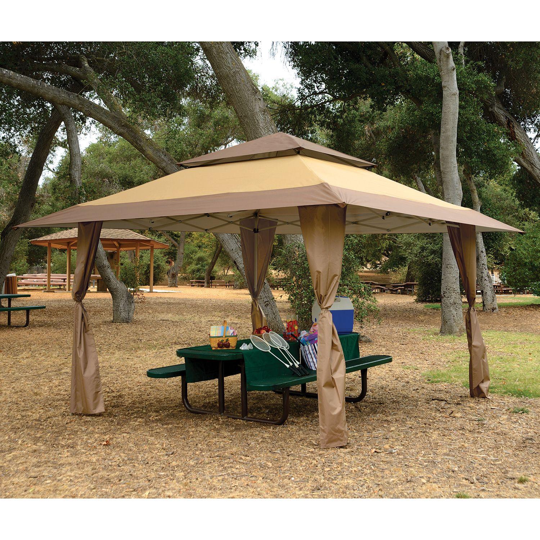 Backyard Gazebo Outdoor Pergola Gazebos 13 X 13 Tent