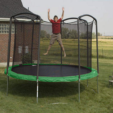 12' Trampoline and Enclosure - Shipping Included