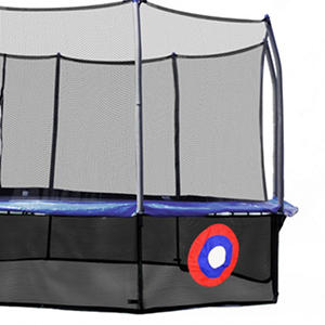 Skywalker Trampolines Sure Shot Lower Enclosure Net with Game