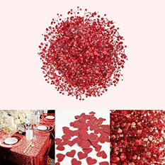 Glitter & Tinted Red Gypsophila (60 Stems)
