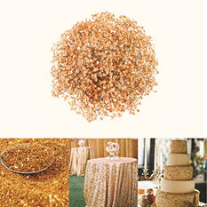 Glitter & Tinted Orange Gypsophila (60 Stems)