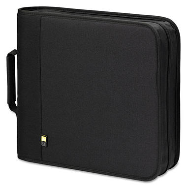 Case Logic� CD/DVD Binder - Holds 208 CDs