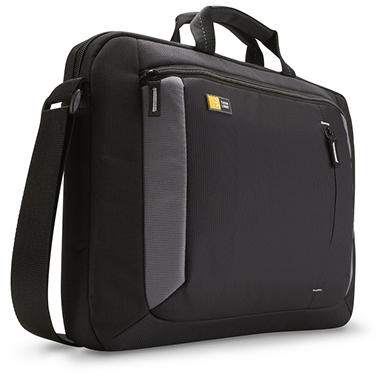 "16"" Case Logic Laptop Attache - Black"
