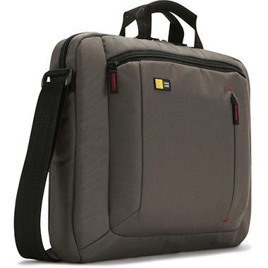 "16"" Case Logic Laptop Attache - Brown"