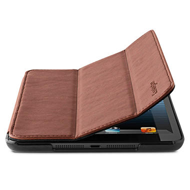 iPad Mini Leather Cover Stand - Black or Brown