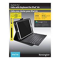 Kensington KeyFolio Pro for iPad Air (iPad5) & Stylus/Pen Bundle