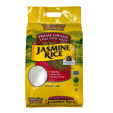 Golden Star Jasmine Rice (25 lbs.)