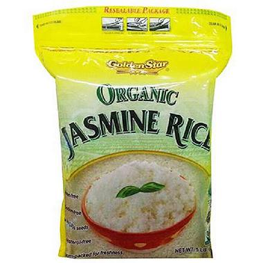 Golden Star Organic Jasmine Rice (5 lbs.) - Sam's Club