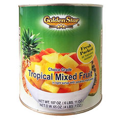 Golden Star Tropical Mixed Fruit (6 lb. 11 oz.)