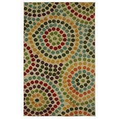 Mosaic Stones Multi Rug