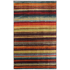 Boho Stripe Multi Rug
