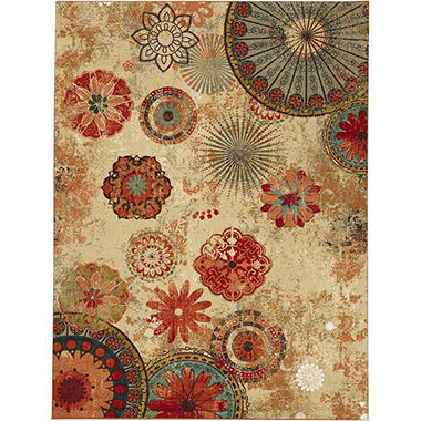 Alexa Medallion Outdoor Area Rug Sam s Club