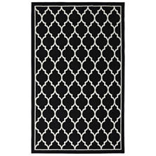 "Mohawk Color Wheel Collection - Chai Accent Rug 30"" x 46"" - Black"
