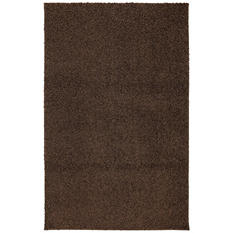 Habitat Shag MD Brown Rug