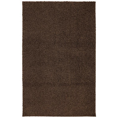 Habitat Shag MD Brown Rug   6971 14056 5X7
