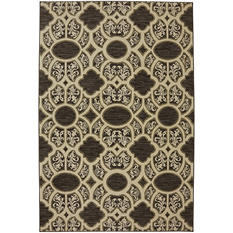 American Rug Craftsman Symphony Collection - Parterre Walnut